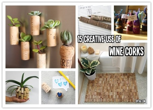 15 creative DIY projects with wine corks