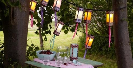 Creative DIY garden lantern tutorial