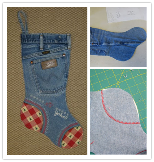 DIY fun Christmas stocking