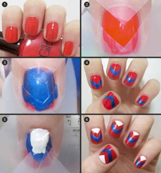 DIY nail art manicure tutorials 1