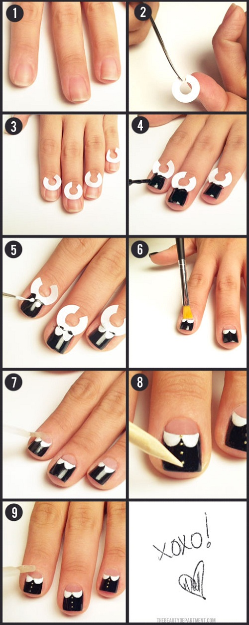 DIY nail art manicure tutorials 3