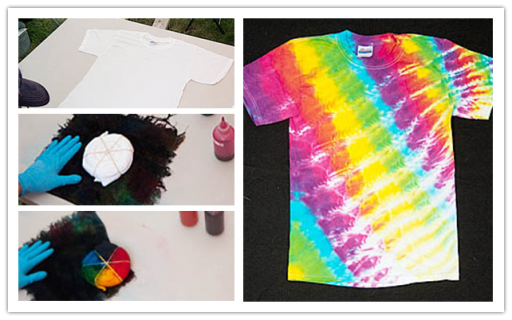 Diy Tie Dye Shirt Tutorial Diy Tag