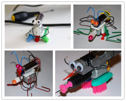 Ho to make DIY mini robots