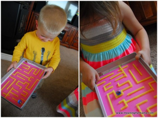 How to make DIY marble maze