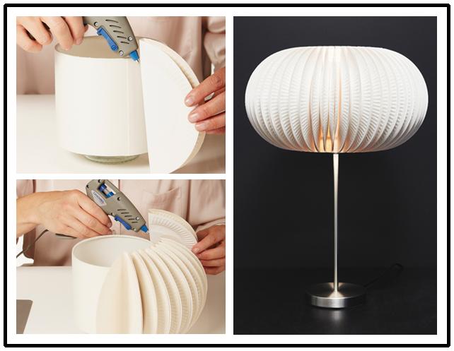 Как сделать красивую настольную лампу своими руками