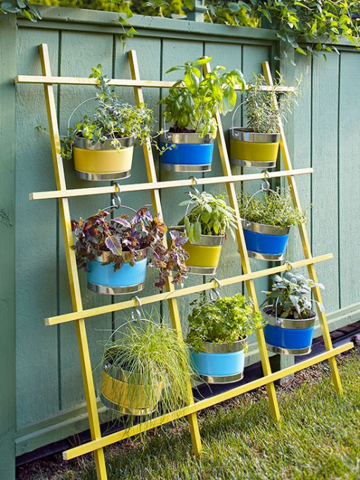 How to make DIY trellis vertical container garden