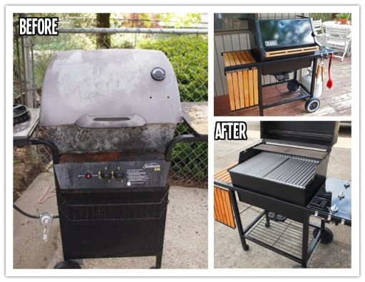 How to rehab a classic weber grill