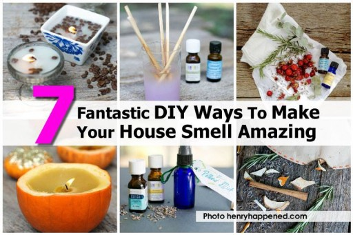 7 DIY natural ways to make your house house smell amazingly nice