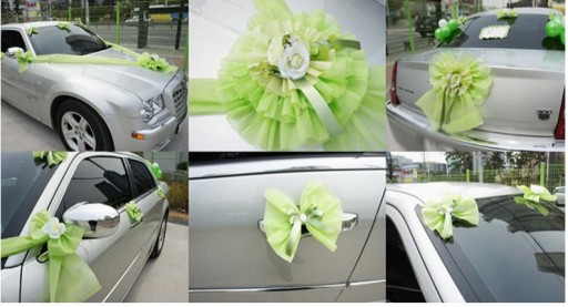 DIY wedding car decoration ideas 3