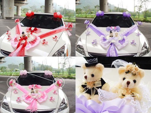 DIY wedding car decoration ideas 5