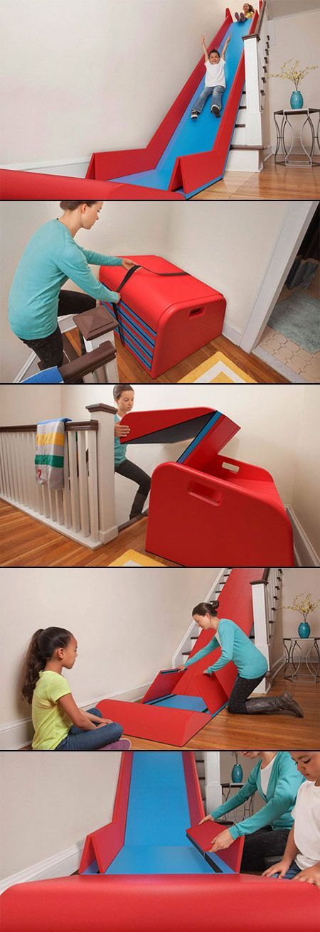 Foldable stair slide - Sliderider 1