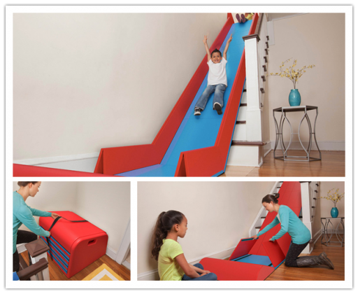 Foldable stair slide - Sliderider