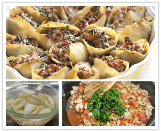 How to Make DIY Sausage Stuffed Shells with Spinach Recipe