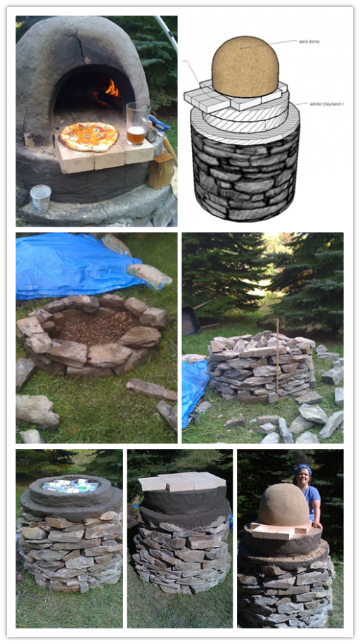 How to build a DIY Pizza cob oven outdoor kitchen 2