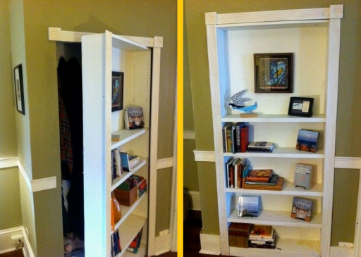 How to build a DIY mysterious hidden door bookcase