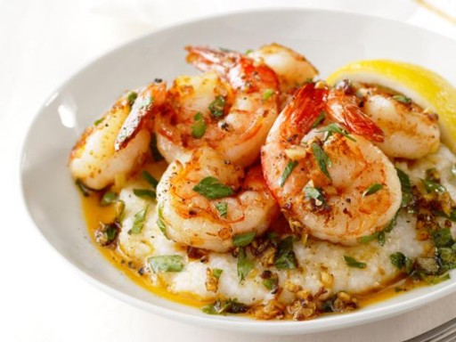 How to cook Lemon Garlic Shrimp and Grits recipe