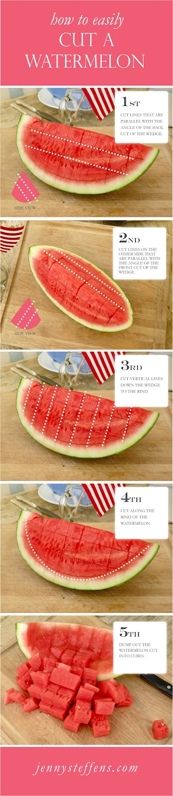 How to cut a watermelonm 2