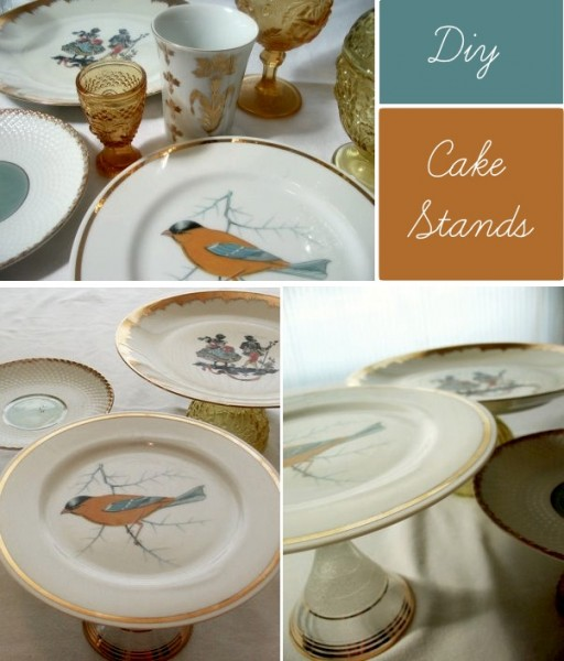 How to make DIY cake stands