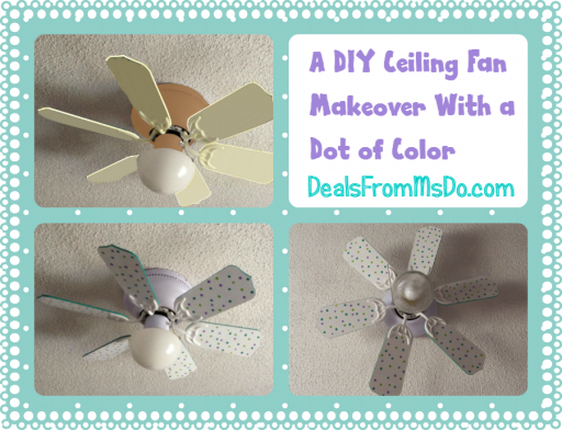 How To Make DIY Ceiling Fan Decoration