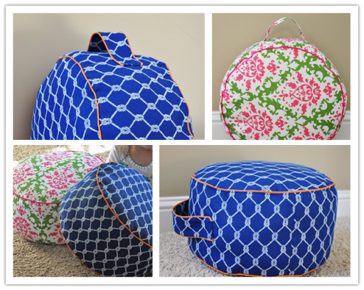 How to make DIY portable pouf