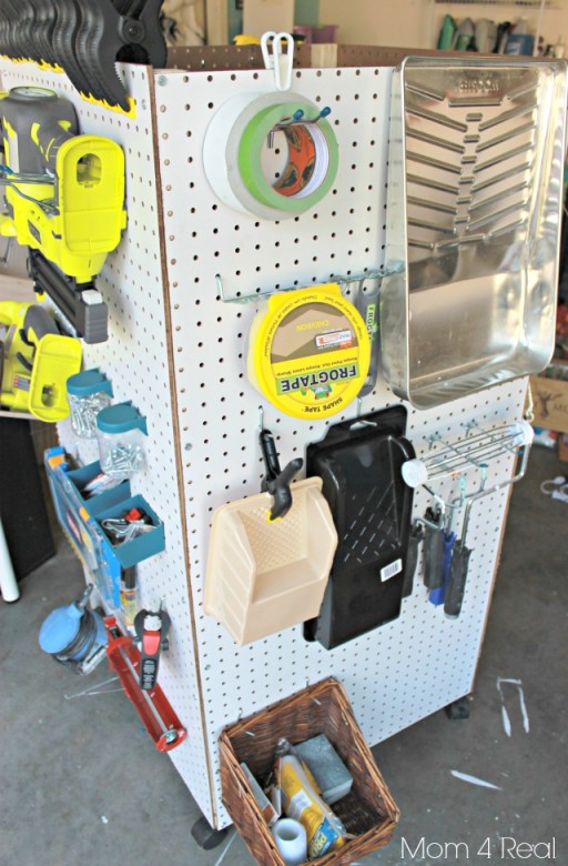 How to make DIY portable tool storage caddy 2