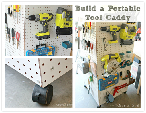 How to make DIY portable tool storage caddy