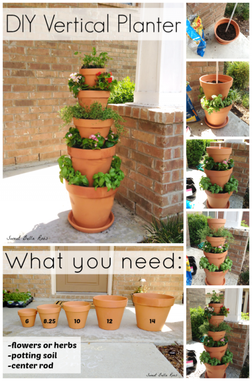 How to make DIY vertical planter