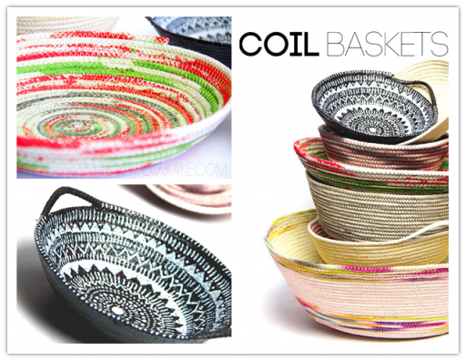 How to make beautiful DIY coil basket