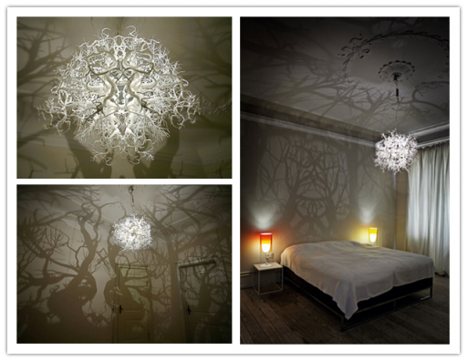 Forest Chandelier Diy: How to make forest inspired DIY tree branch shadow chandelier,Lighting
