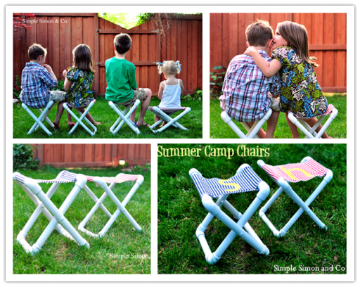 How to make simple DIY summer camp chair