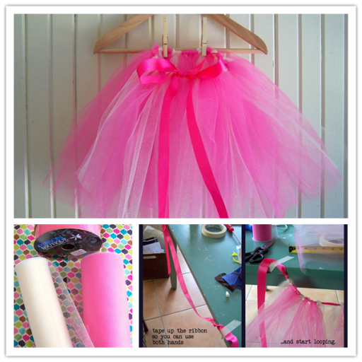 How to make simple and nice DIY little girl tutu