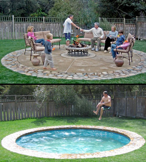 Increase space efficiency with this innovative hidden swimming pool 1