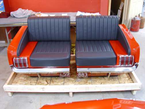 Repurpose Classic Cars Into Cool Furniture Diy Tag