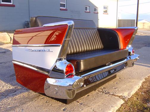 Repurpose classic cars into cool furniture 6