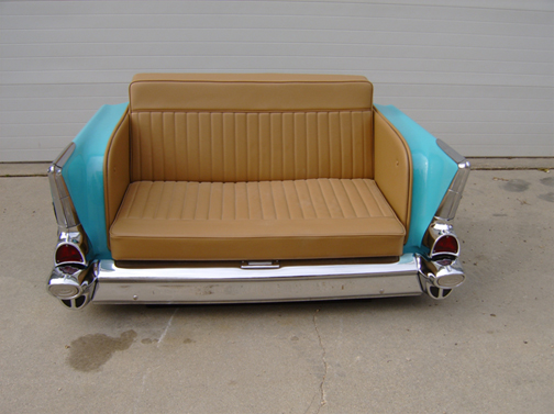Repurpose classic cars into cool furniture 7