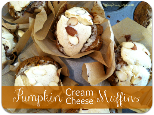 delicious pumpkin cream cheese muffin recipe 1