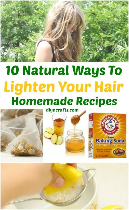 10 Natural Ways To Lighten Your Hair
