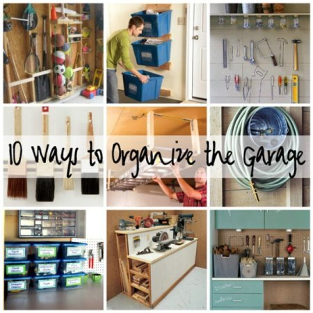 10 Ways To Organize Your Garage