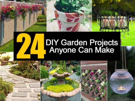 24 DIY Garden Projects That Anyone Can Make
