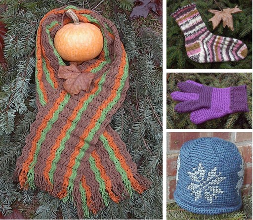 4 Free Crochet Patterns For Winter Time