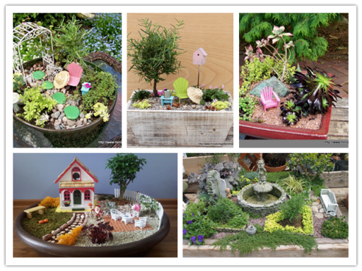 Add Charming To Your Home With These Miniature Garden Landscaping 1