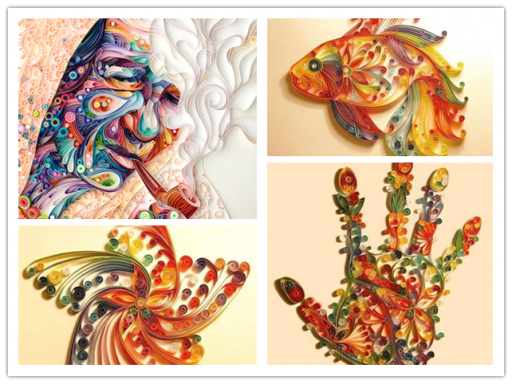 Amazing Paper Quilling Artworks