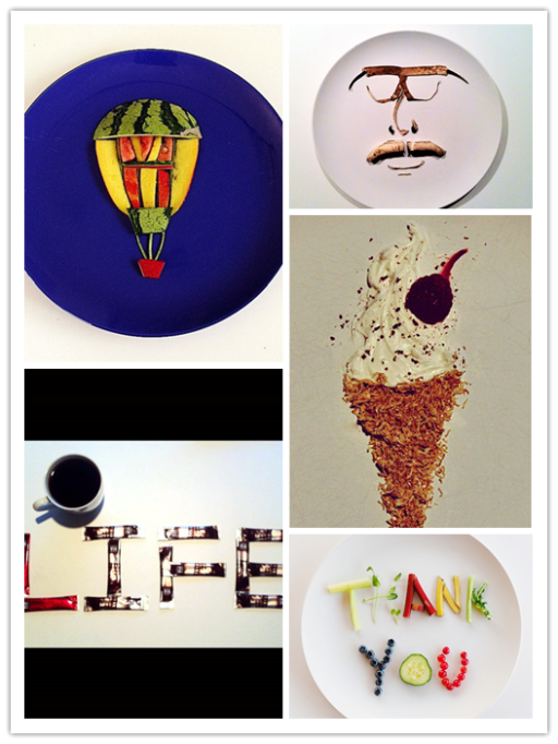 Creative Culinary Canvas Food Art 1