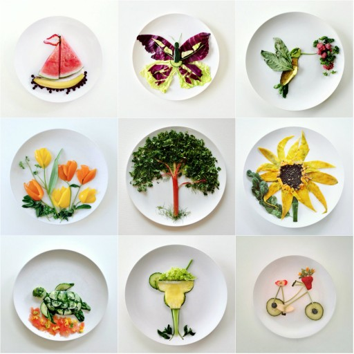 Creative Culinary Canvas Food Art
