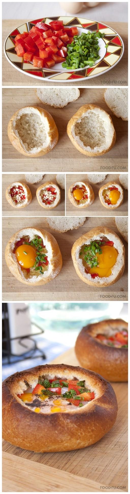 DIY Breakfast Bread Bowl Recipe & Instructions 3