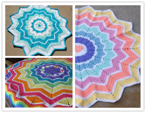 Free Round Ripple Doily Crochet Pattern Diy Tag