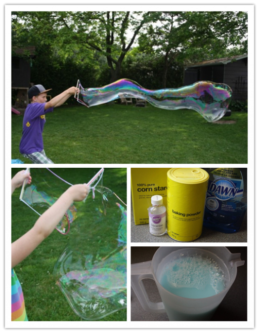 Giant Homemade DIY Bubbles Recipe & Tutorial 2