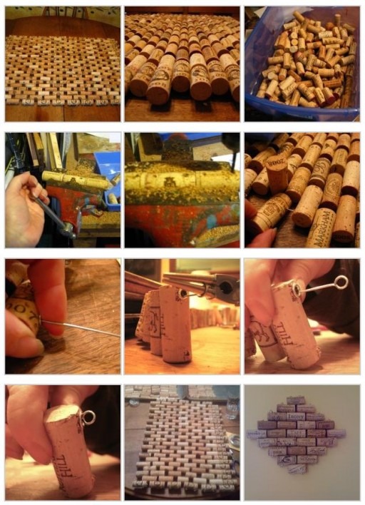 Gorgeous DIY Wine Cork Doormat Tutorial 2