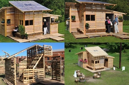 How To Build DIY Pallet Houses