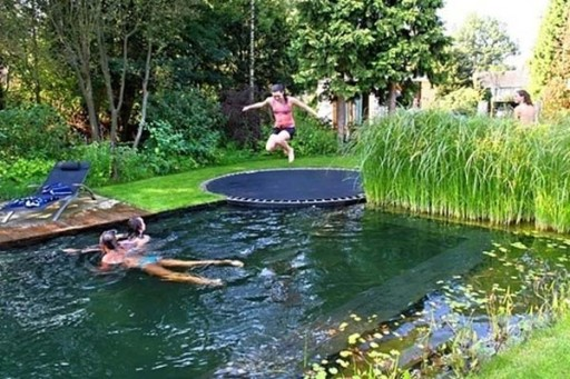 How To Make A DIY Natural Swimming Pool 1